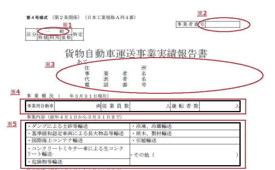 実績報告書記入例①