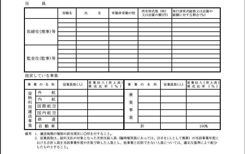 事業報告書②
